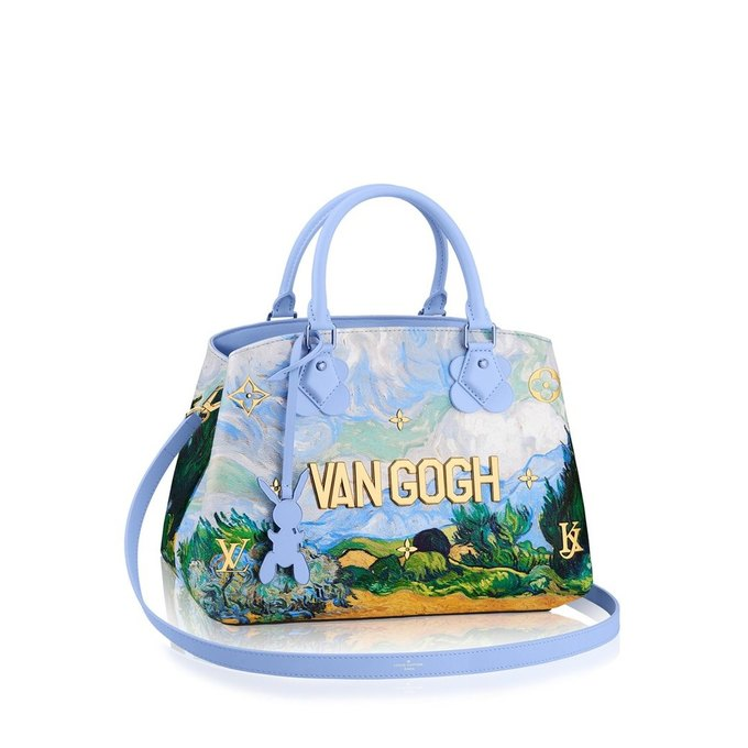 FASHION meets ART: Jeff Koons & Louis Vuitton collaboration