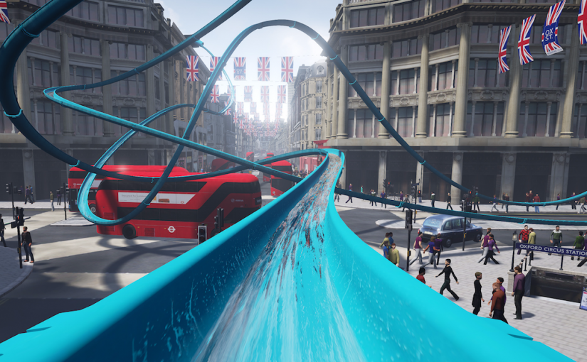 Topshop Returns with New VR Waterslide Experience